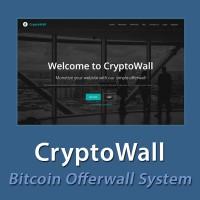 CryptoWall - Bitcoin Offerwall